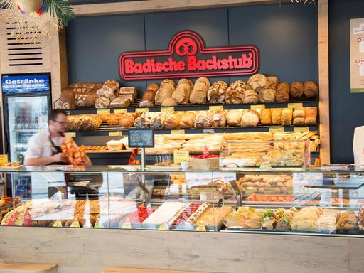 Badische Backstub Bäckerei in Karlsruhe am Kronenplatz