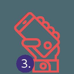 Smartphone Bestell App